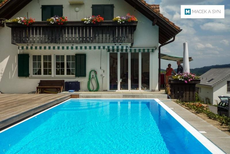 Schwimmbecken 3,8 x 7,8 x 1,4m, Schafisheim, kanton Aargau, Schweiz, Realisierung 2013