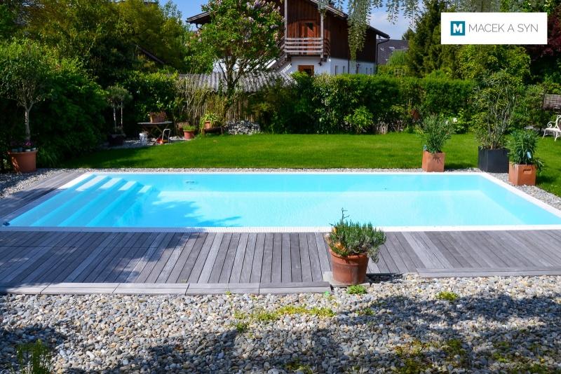 Schwimmbecken 3,5 x 8 x 1,4m, Atlach, Österreich, Realisierung 2017