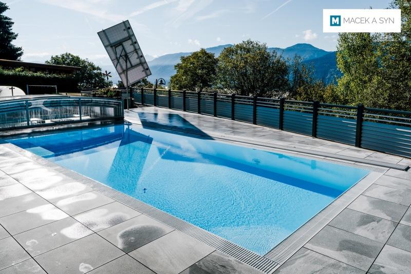Schwimmbecken 8x3,5x1,45m, Kerschdorf,  Österreich, Realisierung 2016