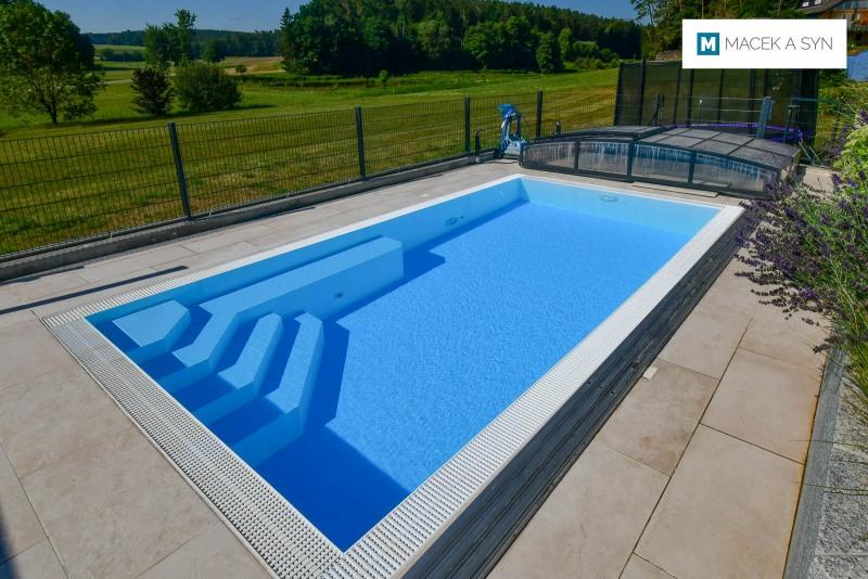 Schwimmbecken 5,9m*3m*1,4m, Heilsbronn, Deustchland, Realisierung 2016