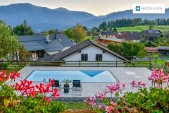 Schwimmbecken 8x3,4x1,4m, Labientschach,  Österreich, Realisierung 2019
