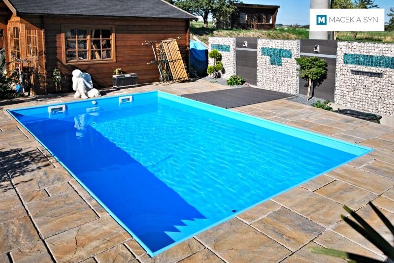 Schwimmbecken  3,2 x 5 x 1,5m, Burkhardswalde (Müglitztal), Sachsen, Deustchland, Realisierung 2014