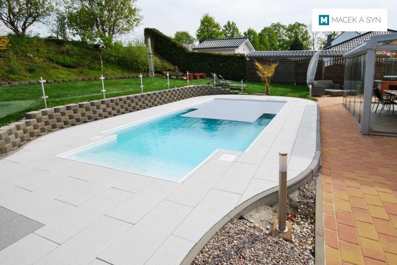 Schwimmbecken  3,5 x 6 x 1,2m, Gößnitz, Thüringen, Deustchland, Realisierung 2016