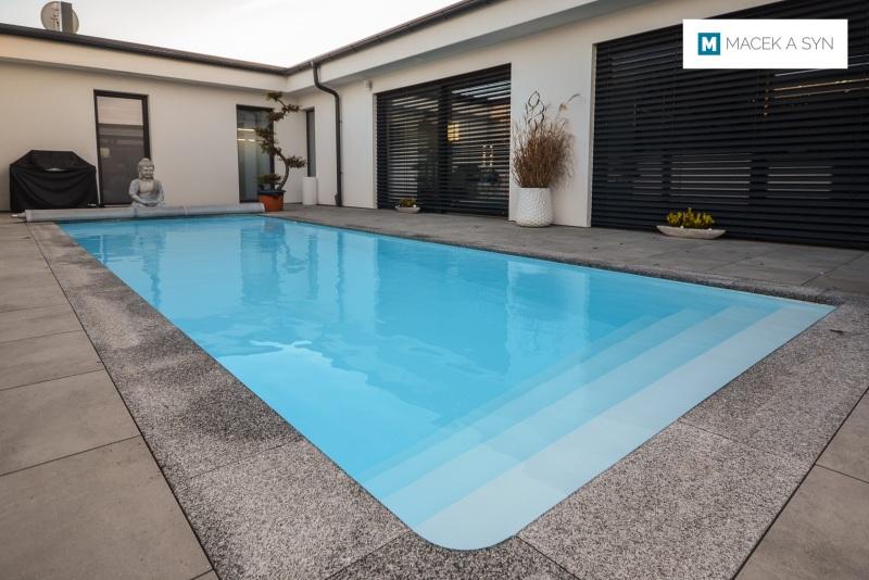 Schwimmbecken 3 x 9 x 1,5m, Freinberg, Österreich, Realisierung 2016