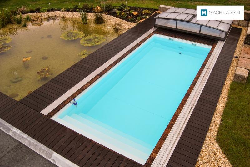 Schwimmbecken  3 x 7 x 1,5m, Zwickau, Sachsen, Deustchland, Realisierung 2013